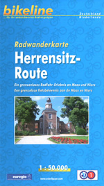 Radwanderkarte zur Herrensitzrout